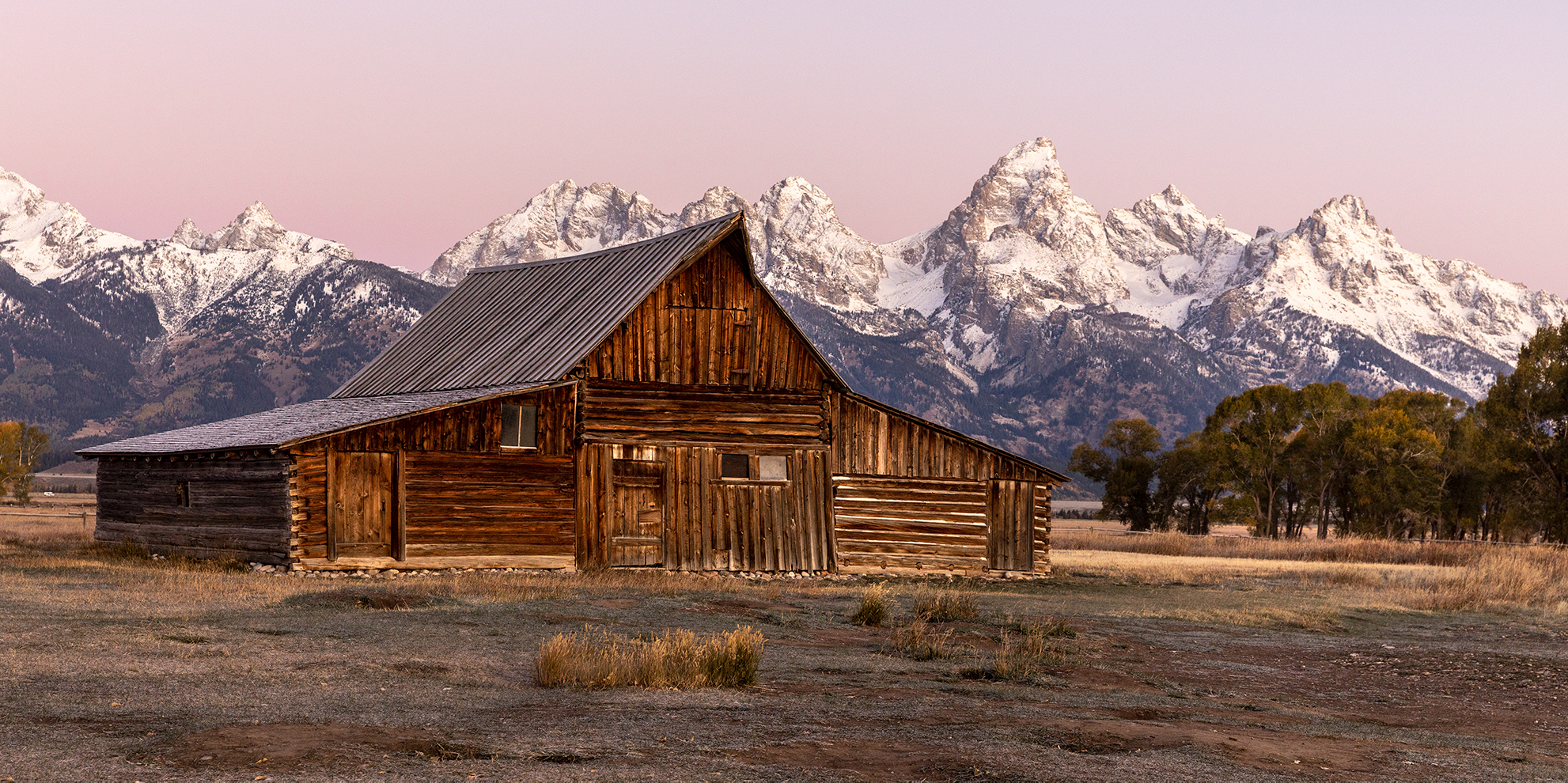 TA Moulton Barn Grand Teton National Park